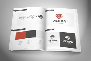 Projektowanie systemów identyfikacji wizualnej firm.
